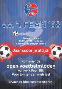 Voetbalmiddag 't Fean'58
