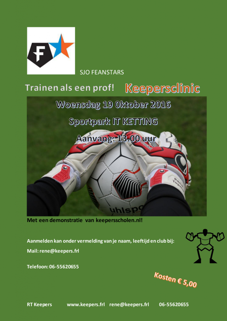 Flyer-keepers-clinic-'t-fean